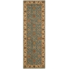 "Nourison Living Treasures Runner Rug  By Nourison, Aqua, 2'6"" X 8'"