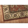 "Nourison Living Treasures Rectangle Rug  By Nourison, Rust, 3'6"" X 5'6"""