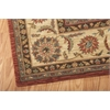 "Nourison Living Treasures Rectangle Rug  By Nourison, Rust, 7'6"" X 9'6"""