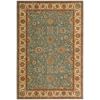 Living Treasures Aqua Area Rug
