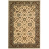 Living Treasures Beige Area Rug