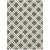 Linear Grey/Ivory Area Rug