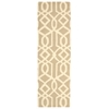 "Linear Runner Rug By, Sand Ivory, 2'3"" X 7'6"""
