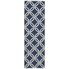 "Nourison Linear Runner Rug  By Nourison, Navy, 2'3"" X 7'6"""