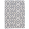 Linear Light Blue Area Rug