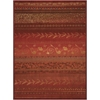 Radiant Impression Crimson Area Rug
