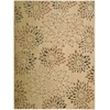 "Radiant Impression Rectangle Rug By, Beige, 5'6"" X 7'5"""