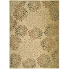 "Nourison Radiant Impression Rectangle Rug  By Nourison, Beige, 7'9"" X 10'10"""