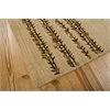 "Nourison Radiant Impression Rectangle Rug  By Nourison, Beige, 5'6"" X 7'5"""