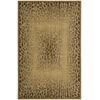 "Nourison Radiant Impression Rectangle Rug  By Nourison, Beige, 3'6"" X 5'6"""