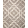 Linear Silver Area Rug