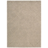Lunette Rectangle Rug By, Sand, 5' X 7'6""