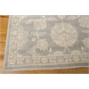 "Nourison Luminance Rectangle Rug  By Nourison, Ironstone, 7'6"" X 10'6"""