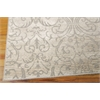 "Nourison Luminance Rectangle Rug  By Nourison, Opal, 7'6"" X 10'6"""