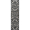 "Nourison Luminance Runner Rug  By Nourison, Graphite, 2'3"" X 8'"