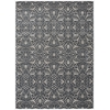 "Luminance Rectangle Rug By, Graphite, 7'6"" X 10'6"""