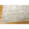 "Nourison Luminance Rectangle Rug  By Nourison, Steel, 7'6"" X 10'6"""
