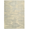 "Luminance Rectangle Rug By, Bone, 7'6"" X 10'6"""