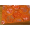 "Ma01 City Chic Rectangle Rug By, Tangerine, 5'3"" X 7'5"""