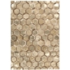"Ma01 City Chic Rectangle Rug By, Amber Gold, 5'3"" X 7'5"""