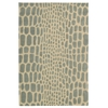 Nourison Ma04 Zambiana Rectangle Rug  By Nourison, Aqua, 4' X 6'