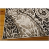 "Ma05 Glistening Nights Rectangle Rug By, Light Grey, 5'3"" X 7'6"""