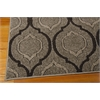 "Ma05 Glistening Nights Rectangle Rug By, Grey, 5'3"" X 7'6"""