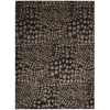"Nourison Ma05 Glistening Nights Rectangle Rug  By Nourison, Black, 7'9"" X 10'6"""