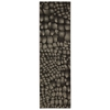 "Nourison Ma05 Glistening Nights Runner Rug  By Nourison, Black, 2'2"" X 7'6"""