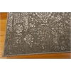 "Nourison Ma05 Glistening Nights Rectangle Rug  By Nourison, Grey, 5'3"" X 7'6"""