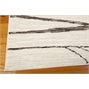 "Ma05 Glistening Nights Rectangle Rug By, Ivory, 5'3"" X 7'6"""