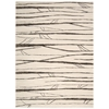"Nourison Ma05 Glistening Nights Rectangle Rug  By Nourison, Ivory, 7'9"" X 10'6"""