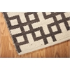 "Bbl3 Maze Rectangle Rug By, Bark, 5'3"" X 7'5"""