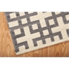 "Bbl3 Maze Rectangle Rug By, Dove, 5'3"" X 7'5"""