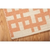 "Bbl3 Maze Rectangle Rug By, Mango, 5'3"" X 7'5"""