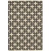 "Bbl3 Maze Rectangle Rug By, Midnight, 5'3"" X 7'5"""