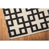 "Nourison Bbl3 Maze Rectangle Rug  By Nourison, Midnight, 7'9"" X 10'10"""