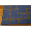 "Bbl3 Maze Rectangle Rug By, Ocean, 5'3"" X 7'5"""