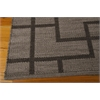 "Nourison Bbl3 Maze Rectangle Rug  By Nourison, Slate, 5'3"" X 7'5"""