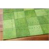 "Bbl4 Medley Rectangle Rug By, Lemon Grass, 5'3"" X 7'5"""