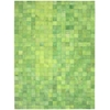 Nourison Bbl4 Medley Rectangle Rug  By Nourison, Lemon Grass, 8' X 11'