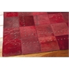 "Nourison Bbl4 Medley Rectangle Rug  By Nourison, Scarlet, 5'3"" X 7'5"""