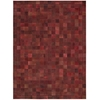 Bbl4 Medley Rectangle Rug By, Scarlet, 8' X 11'