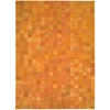 Nourison Bbl4 Medley Rectangle Rug  By Nourison, Tangerine, 8' X 11'