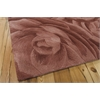 "Moda Rectangle Rug By, Blush, 7'6"" X 9'6"""