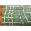 "Nourison Tahoe Modern Rectangle Rug  By Nourison, Turquoise Green, 7'9"" X 9'9"""
