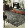 "Nourison Tahoe Modern Rectangle Rug  By Nourison, Charcoal, 7'9"" X 9'9"""