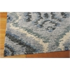 "Nourison Tahoe Modern Rectangle Rug  By Nourison, Denim Blue, 7'9"" X 9'9"""