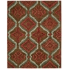 Tahoe Modern Brown/Red Area Rug