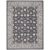 "Nourison Maymana Rectangle Rug  By Nourison, Charcoal, 7'10"" X 10'10"""